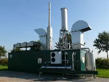 Kogenerační jednotka v kontejneru